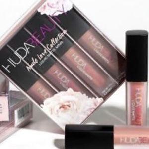 Huda Beauty Nude Love Collection Liquid Matte Lips
